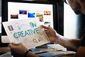 Creative Content Configuration Creative Design poster