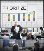 Prioritize Effectivity Important Rank Tasks Urgent poster