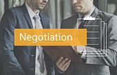 Deal Agreement Commitment Negotiation Business poster