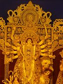 Durga Protima, bengali special, important festival in West Bengal poster