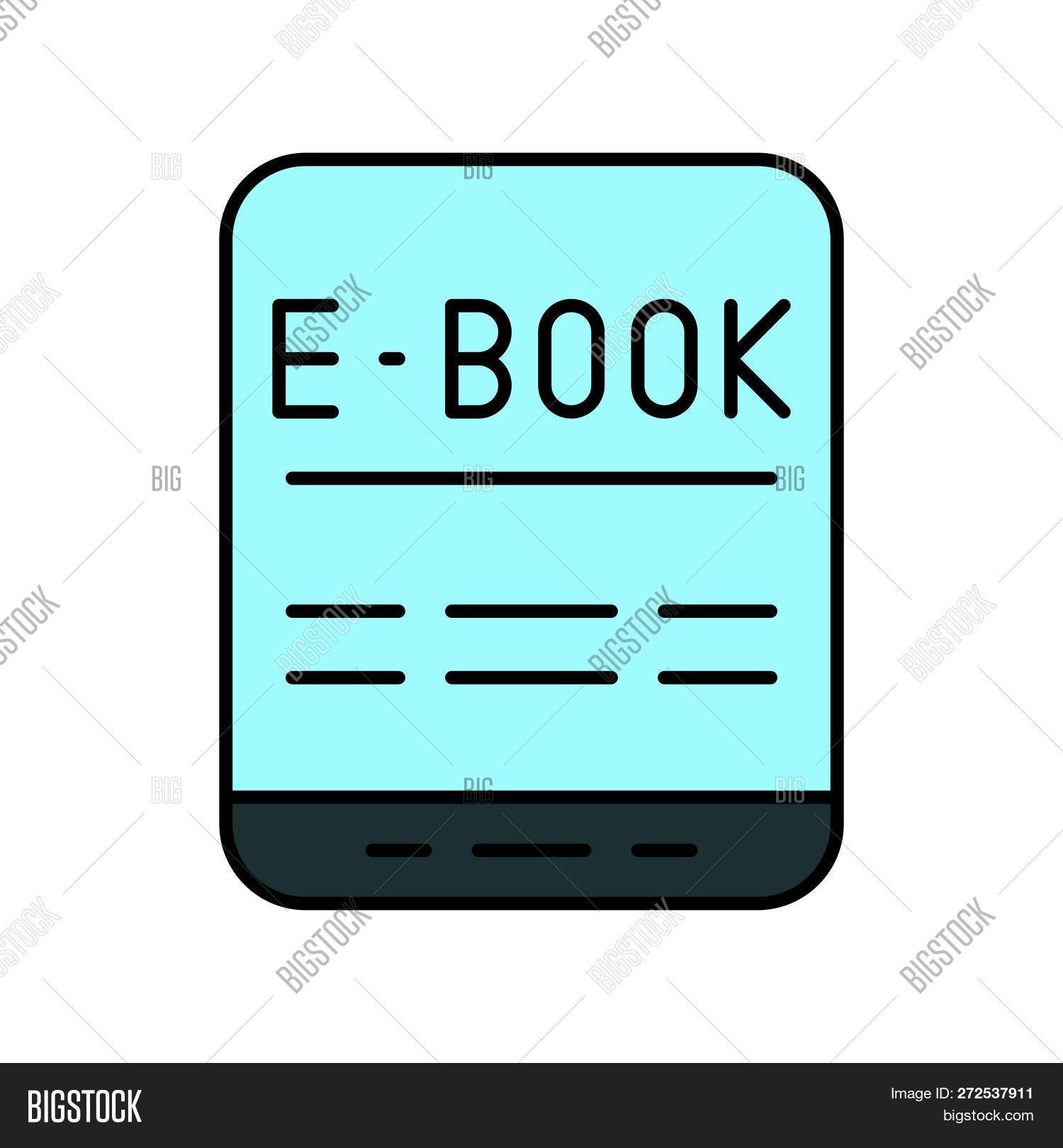 E-book Tablet Device Vector & Photo (Free Trial) | Bigstock