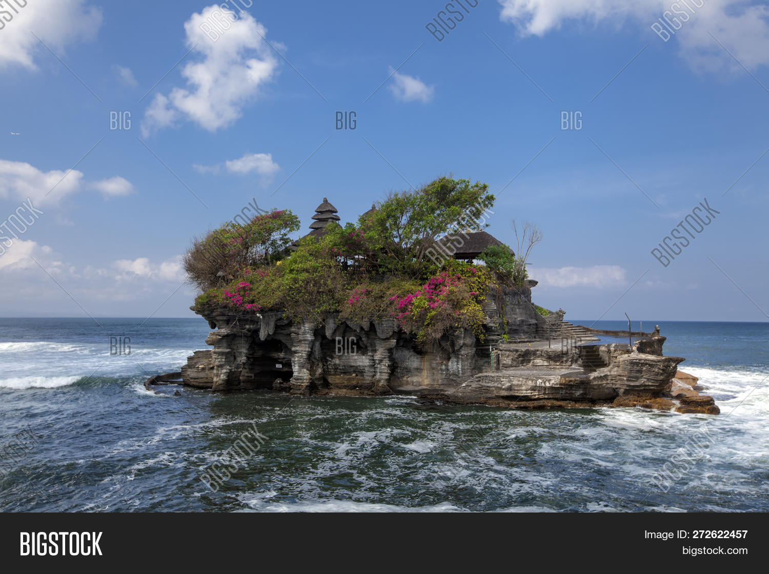 Tanah Water Temple Image Photo Free Trial Bigstock