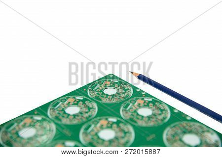 schematic diagram - design of electronic circuit and electronic board poster