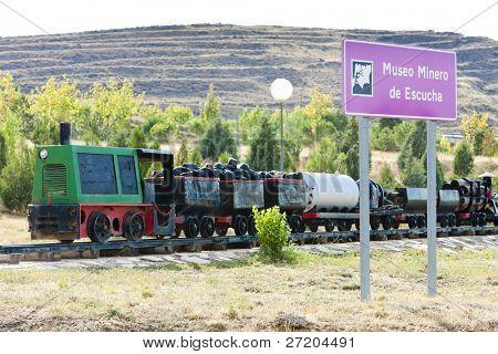 poster of Mining Museum, Escucha, Aragon, Spain