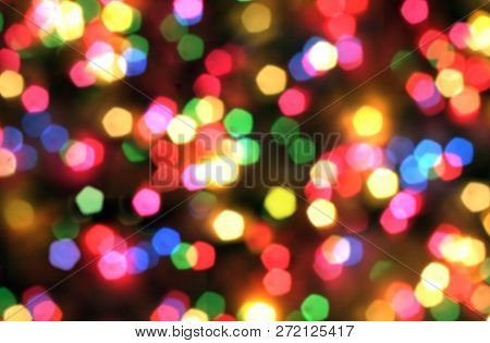 Abstract, Background, Blue, Spot, Blurred, Bokeh, Bright, Holiday, Christmas, Color, Colorful, Decor