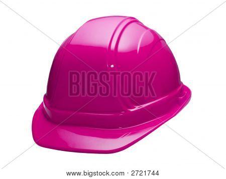 Casco rosa