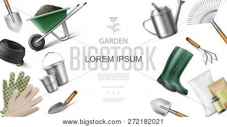 Realistic Garden Vector & Photo (Free Trial) | Bigstock