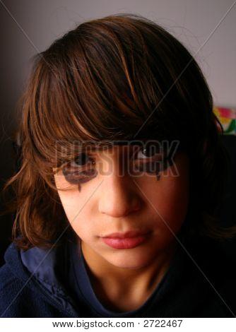 Sad Looking Teenager