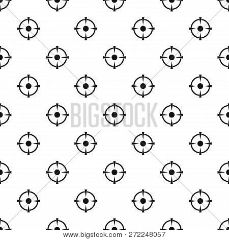 Reticle Target Pattern Seamless Vector Repeat Geometric For Any Web Design