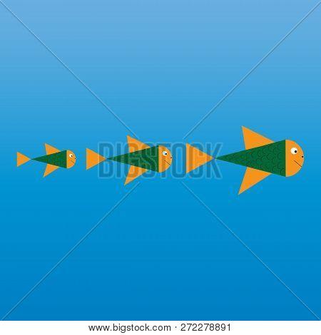 Fish Abstract Vector Design Logo Template. Creative Design Concept. Seafood Restaurant Idea.