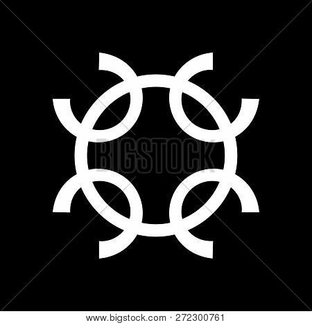 """""""The Well of Wishes"""" - witchcraft occult sign, enchantment magic symbol, wiccan coven emblem. poster"""