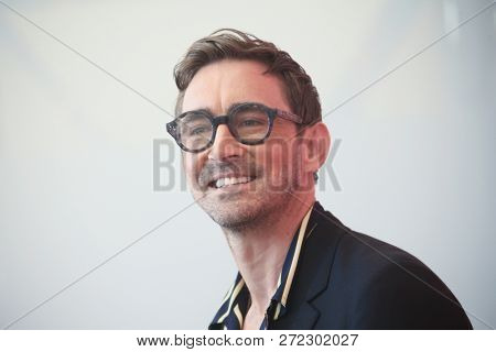 Lee Pace attends 'Driven' photocall during the 75th Venice Film Festival at Sala Casino on September 8, 2018 in Venice, Italy.