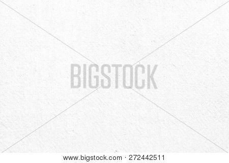 Texture Background Concept: White Linen Fabric Texture Background