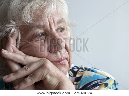 sad lady