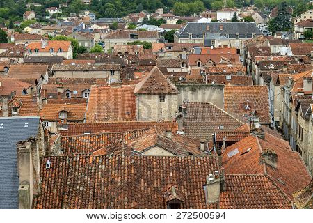 Mediveval Village In France, Villefranch De Rouergue, Classifed As Monument Historic, First Twon In