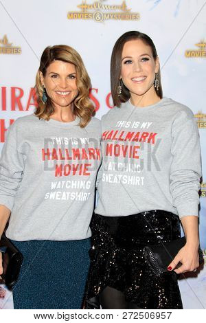 LOS ANGELES - DEC 4:  Lori Loughlin, Erin Krakow at the