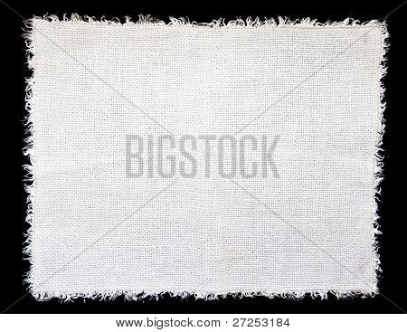 White linen cloth as a background