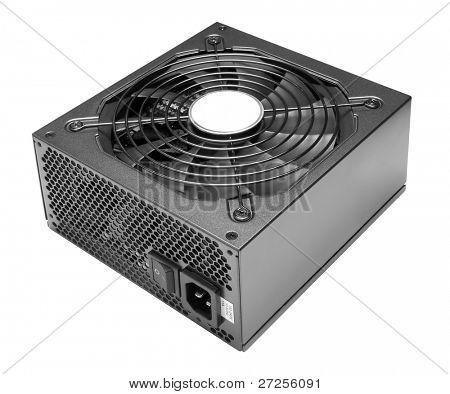 Power box isolated on white background.