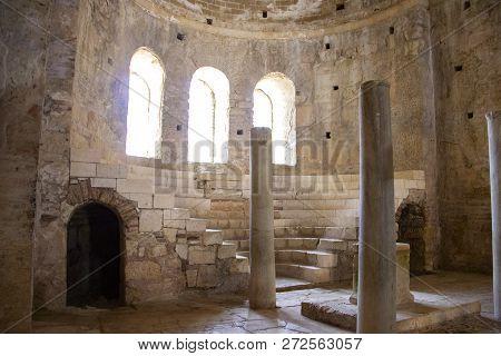 Saint Nicholas (santa Clause) Church In Demre, Turkey. It's An Ancient Byzantine Church