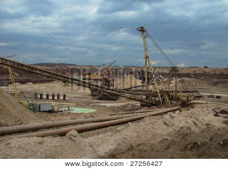 state mining and metallurgical plant. Ukraine. USSR