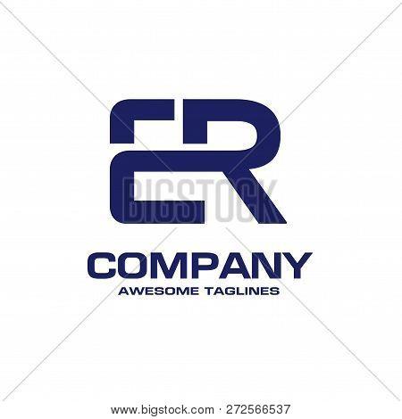 Creative Initial Letter Er Logo Vector Concept Element