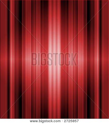 Striped Red Metallic Background