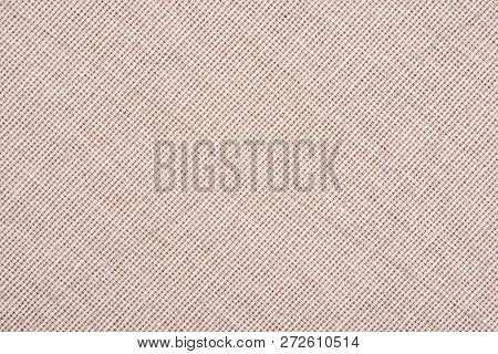 Abstract Beige Fabric Texture Background. Book Cover