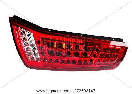 car headlights on a white background