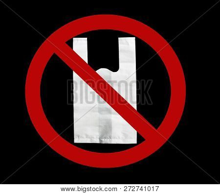 Department Store Say No Plastic Bags. No Plastic Bags Campaign. Environment Day Concept. Environment