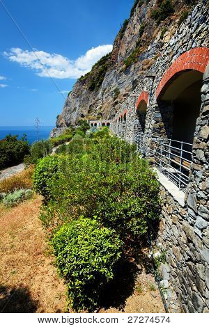 Via del Amore on the ligurian coast, Cinque Terre, Italy