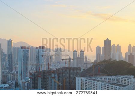 Middle Of Kowloon View From Kowloon Tong