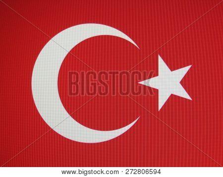 Send A Turkish Flag In The Turkey Zonguldak