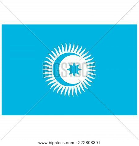 Vector Flag Cooperation Council Of Turkic- Speaking States