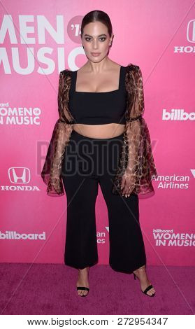 NEW YORK - DEC 6: Model Ashley Graham attends Billboard's 13th Annual Women in Music event on December 6, 2018 at Pier 36 in New York City.