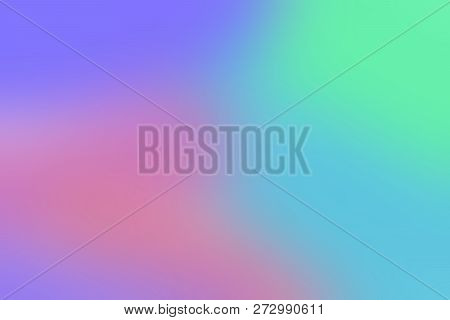 Pink Blue Purple Colorful Lights Gradient Blurred Soft, Sweet Colors Wallpaper Colorful Shade, Rainb