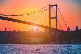 The Bosphorus Bridge Known Officially As The 15 July Martyrs Bridge Is One Of The Three Suspension B