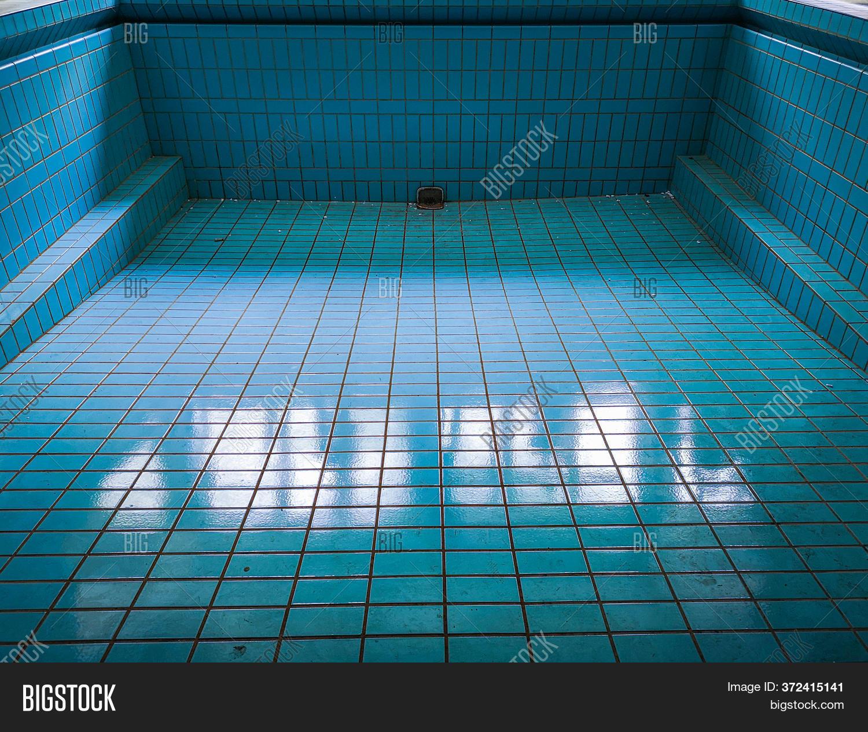 Empty Blue Swimming Image Photo Free Trial Bigstock