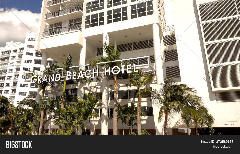 Grand Beach Hotel Image Photo Free Trial Bigstock