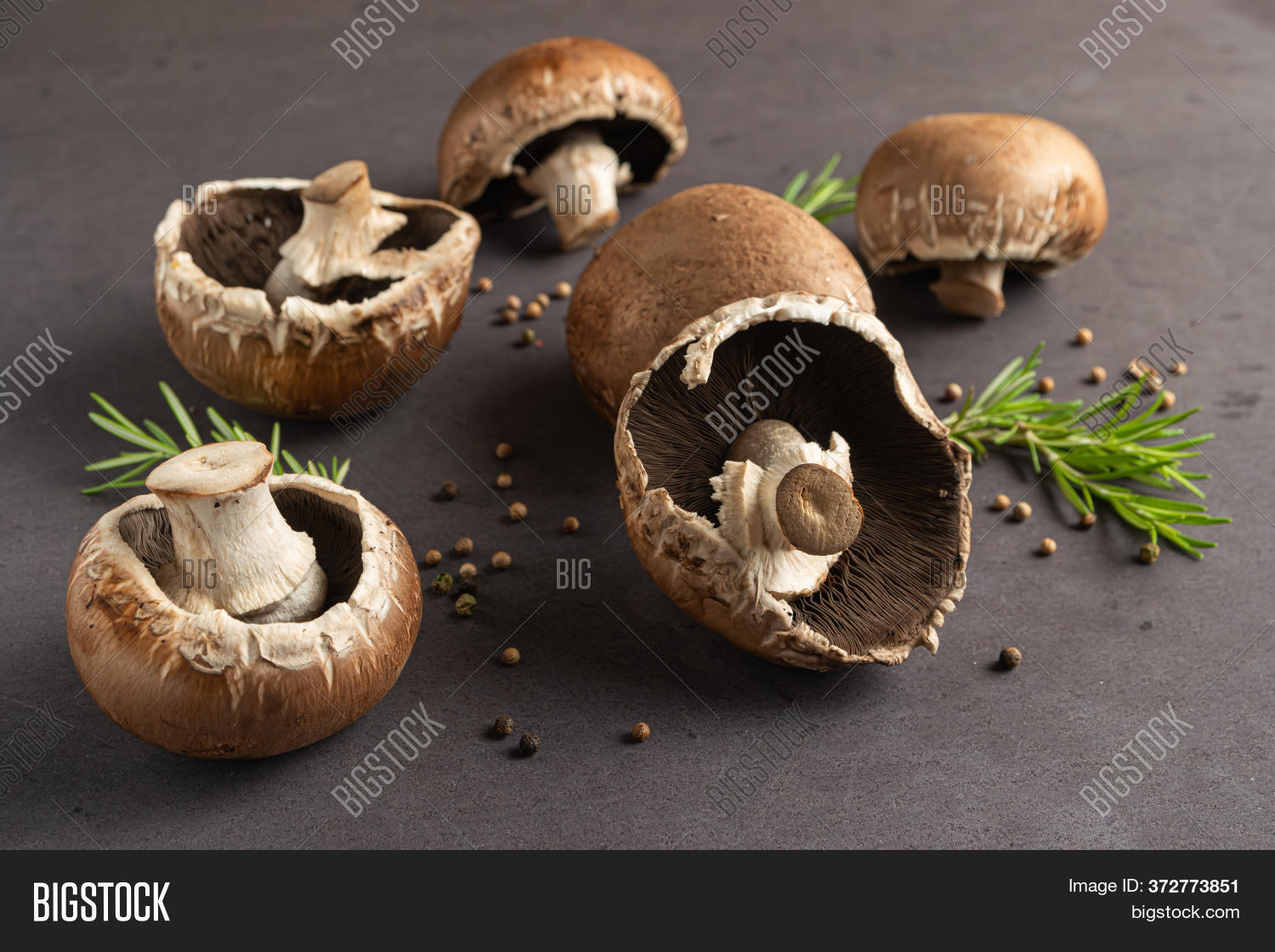Frame Raw Portobello Image Photo Free Trial Bigstock