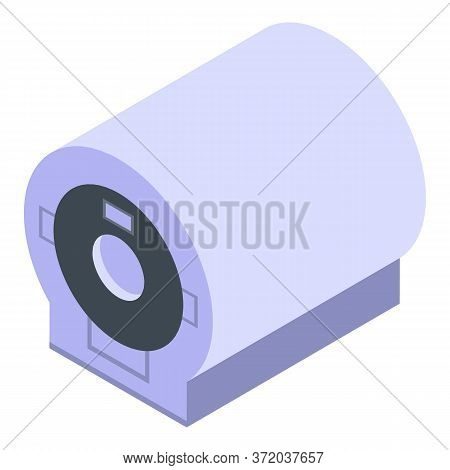 Magnetic Scanner Icon. Isometric Of Magnetic Scanner Vector Icon For Web Design Isolated On White Ba