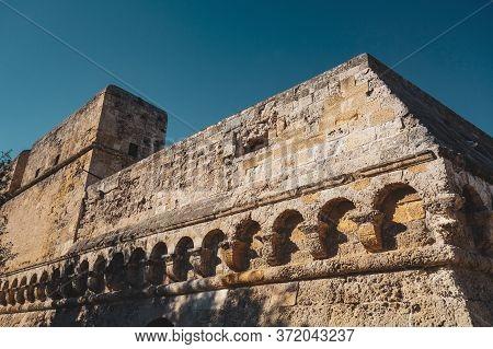 Swabian Castle Of Bari. Puglia. Southern Italy.