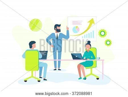 Buisness concept. Business team.Business concept. Business people. Business background. Infographic business arrow shape template design. Business background, business concept. business banner. Building to success concept vector illustration graphic or we