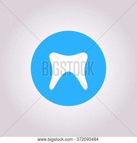 Health Dent Logo Design Vector Template Flat Line Style. Cosmetic Dental Dentistry. Dental Clinic Lo