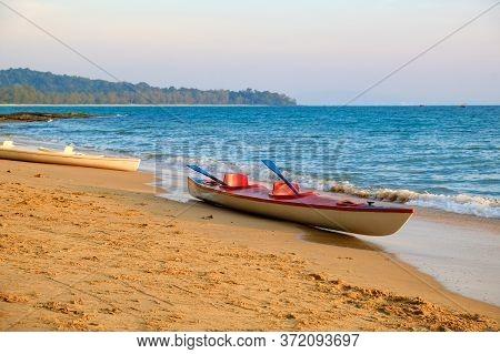 The Sandy Beach On Phu Quoc Island