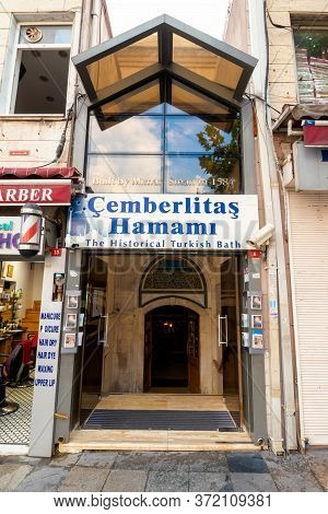 Istanbul, Turkey - Aug 18, 2015: One Of The Most Beautiful Historical Hammam In Turkey. Located On D