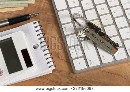 house key with