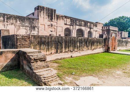 Ruins Of Tahkhana Palace Ruins In Bangladesh
