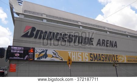 Bridgestone Arena In Nashville - Nashville, Usa - June 17, 2019