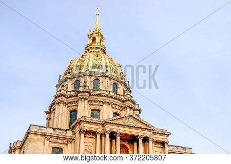 The National Residence Of The Invalids (les Invalides), Paris, France