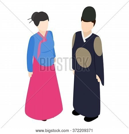 Traditional Clothes Icon. Isometric Illustration Of Traditional Clothes Vector Icon For Web